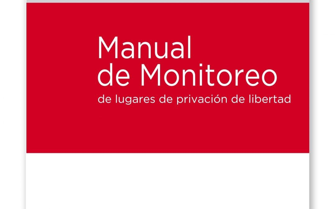 Libro | Manual de monitoreo en cárceles